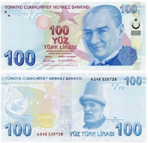 100 lire turche