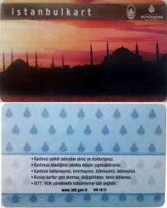 istanbul kart fronte retro